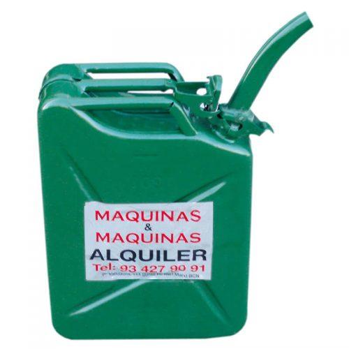 Alquiler-Garrafa de combustible 20 L