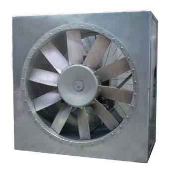 Alquiler-Caja de ventilación insonorizada