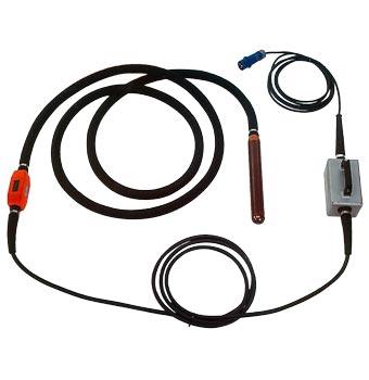 Alquiler-vibrador con convertidor incorporado