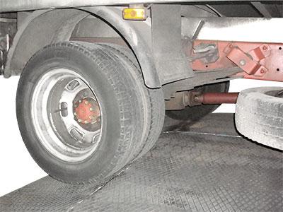 alquiler pasarela camiones