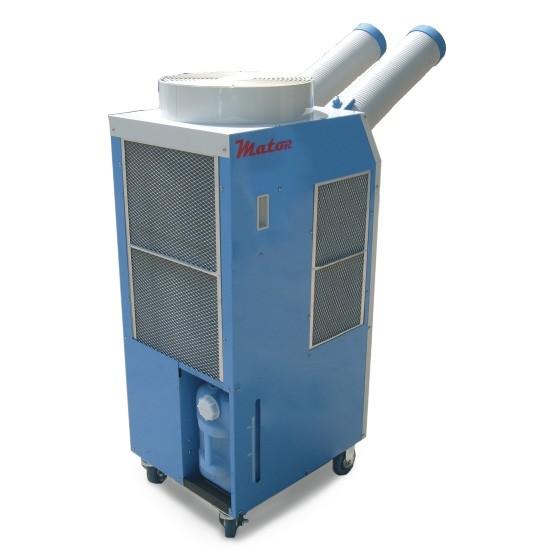 Alquiler-Aire acondicionado portátil Spot Cooler Mator, 2 tubos, 6,2 kW, 230v 2