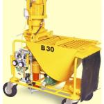 Alquiler-Enfoscadora 1.800 L/h, 7,5 HP, 400v.
