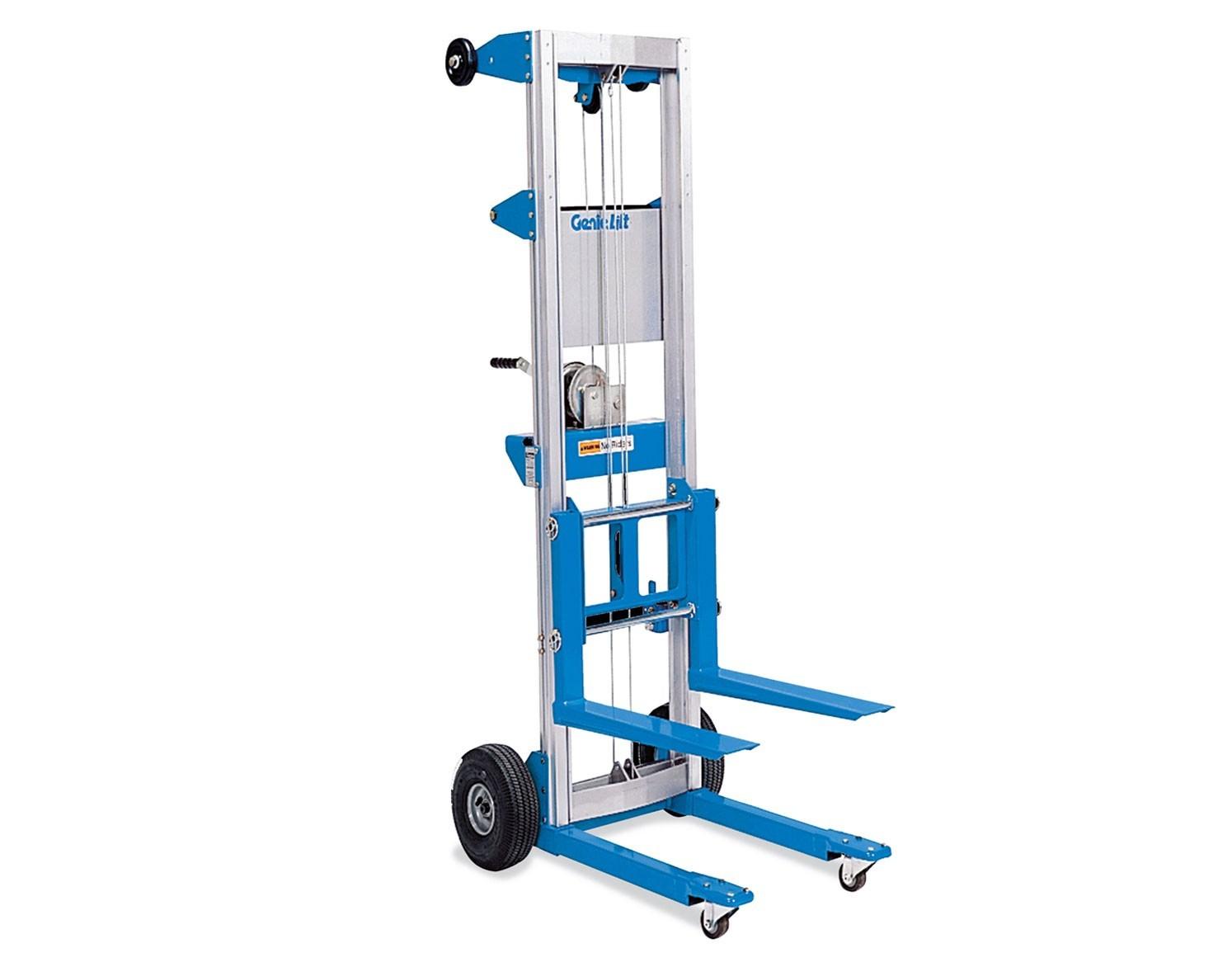 Alquiler de elevador manual de material 4 0 m 159 kg - Carretillas manuales precios ...
