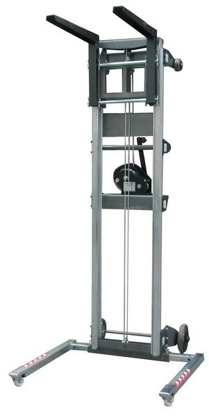 Alquiler de elevador manual de material 3 0 m 159 kg for Maquina acuchillar parquet alquiler