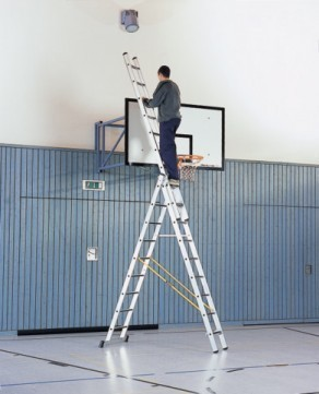 Alquiler de escalera extensible for Precios de escaleras de tijera de aluminio