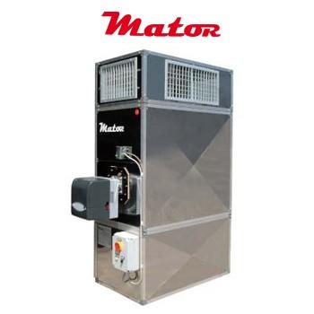 Alquiler-Generador aire caliente a gasóleo, grandes volúmenes, Hercules 160 KW, 230v.