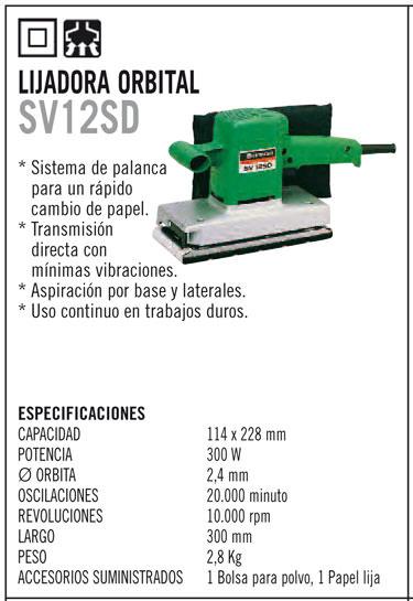Lijadora orbital 300 w 230v maquinas y maquinas for Alquiler de lijadora de parquet