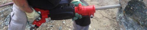 Alquiler-Martillo picador neumático 11kg con silencioso TOKU TCD20 3