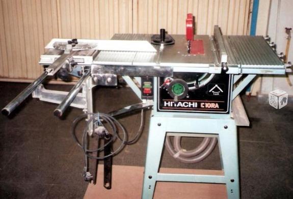 Alquiler de sierra circular de mesa para aluminio y madera for Maquina acuchillar parquet alquiler