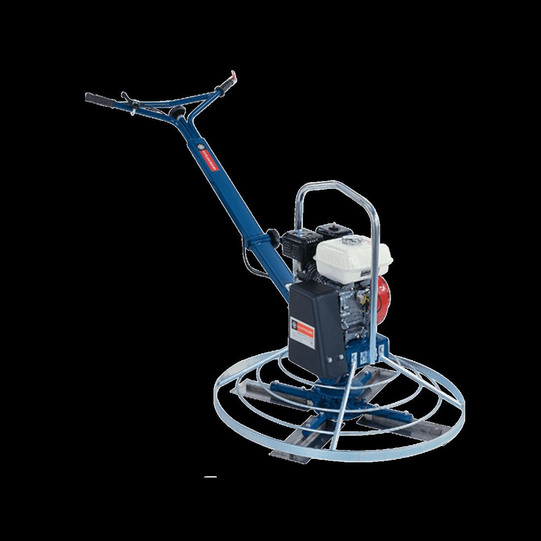Alquiler de fratasadora a motor helic ptero 5 5hp 900mm for Maquina acuchillar parquet alquiler