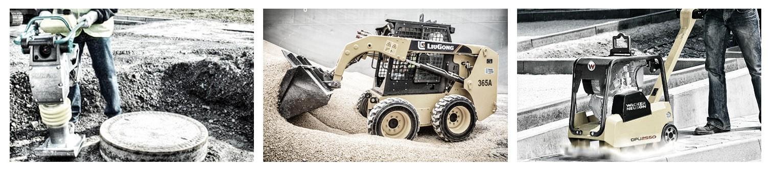 Alquiler de maquinaria para movimientos de tierra y capacitación