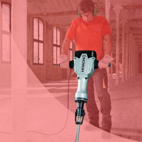 Alquiler de martillos eléctricos y neumáticos para demolición