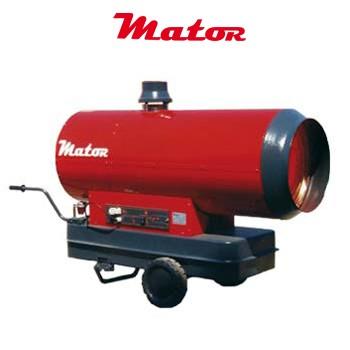 Alquiler-Generador de aire caliente a gasóleo, con chimenea, 70 KW, 230v