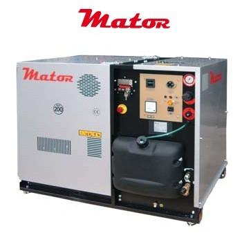 Alquiler-Subido a Hidrolimpiadora agua caliente, motor diesel, 14 HP, 185 bar, 1.100 L/h