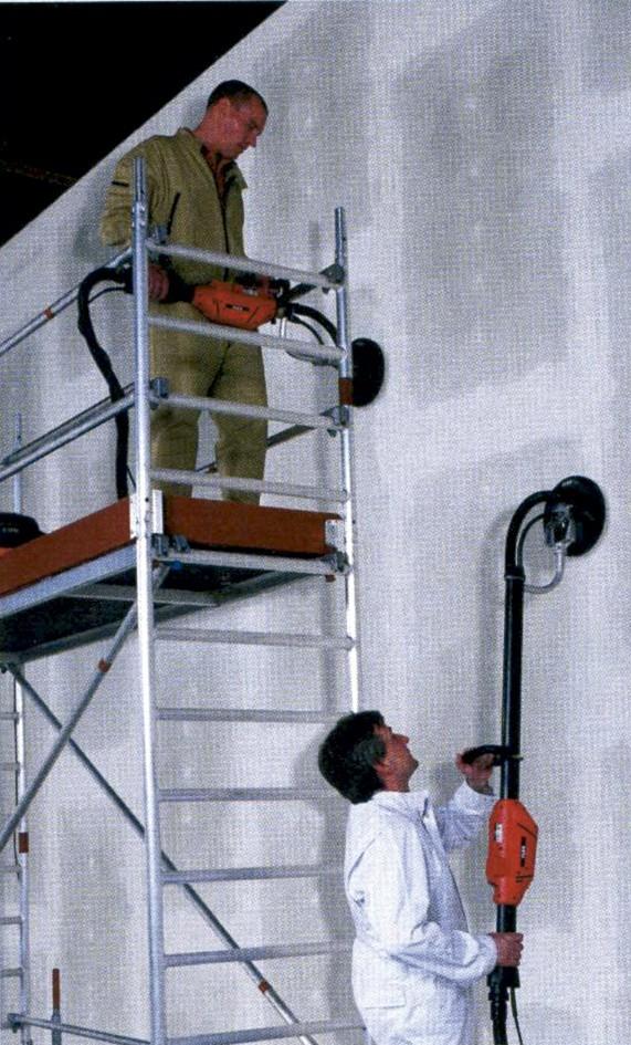 Alquiler de lijadora de paredes y techos jirafa 225mm - Lijadora de pared ...