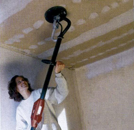 Alquiler-Lijadora de paredes y techos- Jirafa Ø225mm