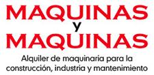 Maquinas y Maquinas – Alquiler de maquinaria, Alquiler de herramientas