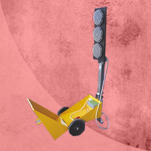 Alquiler de vallas y señalización luminosa para la seguridad en obras